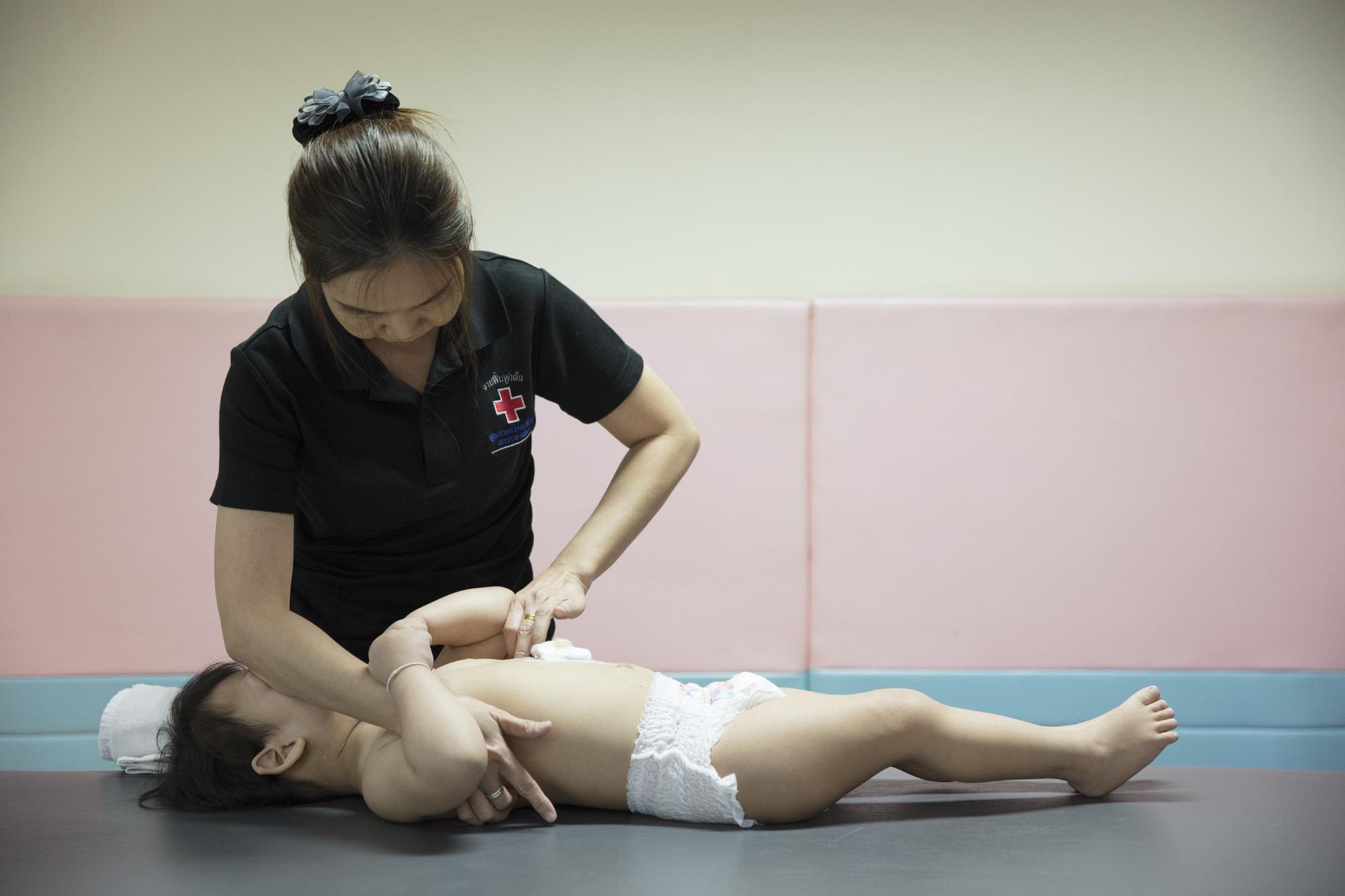 ฝึกอบรมนักบำบัดวอยต้าสำหรับฟื้นฟูเด็กผู้พิการ