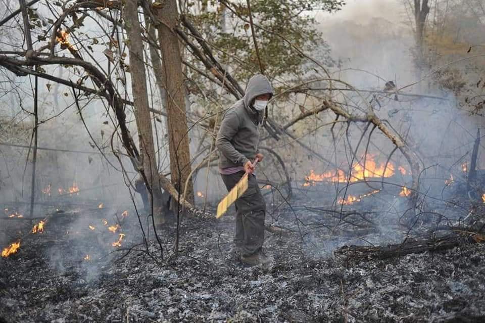 อาสาดับไฟป่า ร่วมใจฟื้นฟูป่าเชียงดาว จังหวัดเชียงใหม่