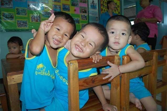 สนับสนุนพัฒนาการของเด็กในชุมชนแออัด (กรุงเทพฯ)